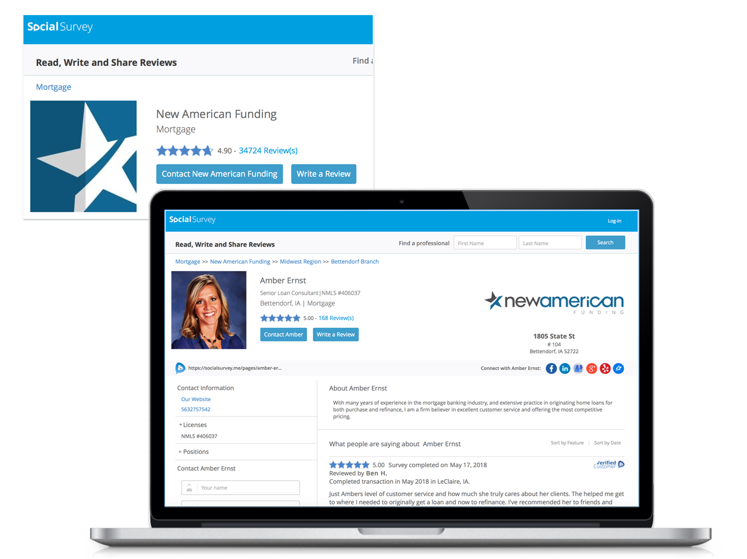 we create company region location and agent profile pages to power your reviews online and drive traffic trust and new business
