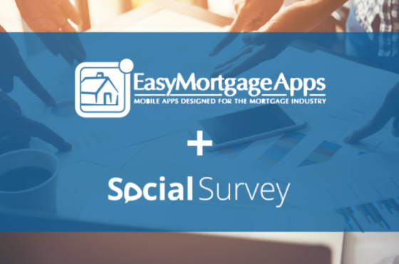 Easy Mortgage Apps and SocialSurvey Integration
